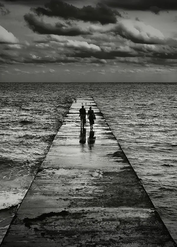 Walk To The End Of The World With You #blackandwhite #photography