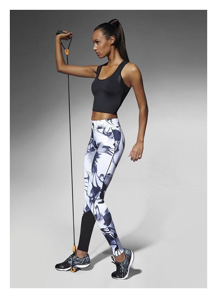 Sport-Leggings Calypso, figurformend, atmungsaktiv und feuchtigkeitsregulierend (L): Amazon.de: Bekleidung