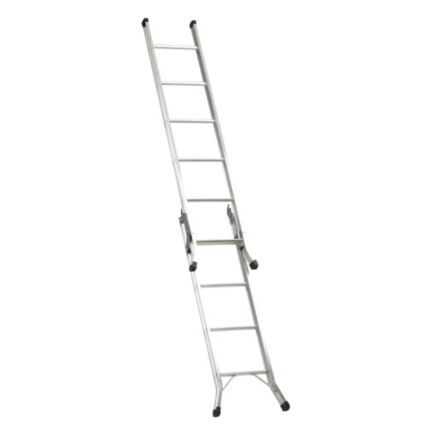 Abru Aluminium 3-Way Combination Ladder, (H)3.40M: Image 2