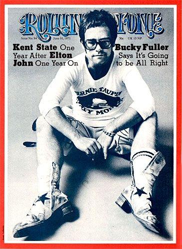 Elton John   June 10, 1971 (Courtesy of @Michelle Flynn Flynn Rolling Stone)  Philadelphia freedom my all time fav