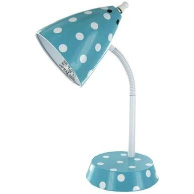 Polka Dot Desk Lamp from Hobby Lobby: Dots Rainbows Classroom, Dots Desks, Dots Classroom, Polka Dots Rainbows
