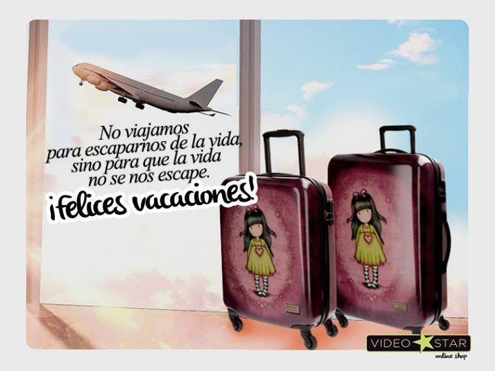 """""""No viajamos para escaparnos de la vida si no para que la vida no se nos escape"""" #felizfinde #felicesvacaciones #verano #frases #Gorjuss"""