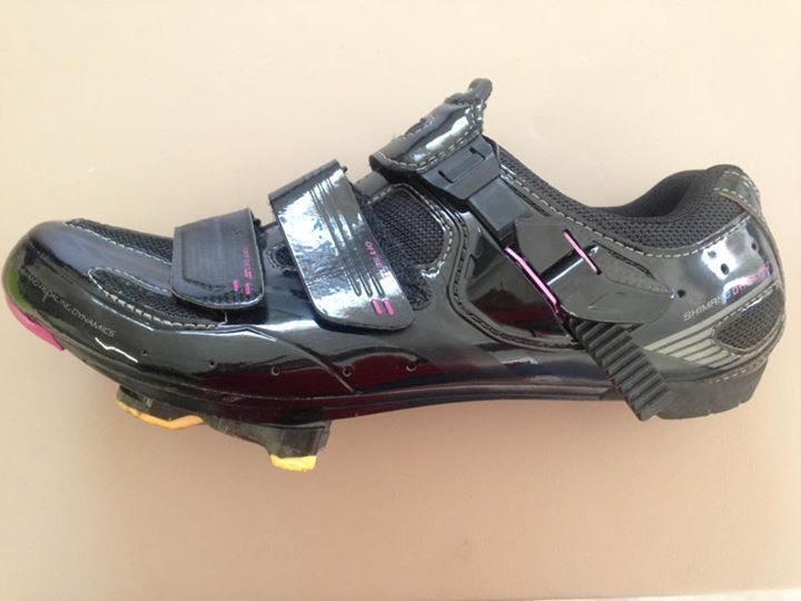 Shimano SH-WR62L Women's Road Bike Shoes Carbon Sole Insert Black - 40 (US 7.8) - http://sports.goshoppins.com/cycling-equipment/shimano-sh-wr62l-womens-road-bike-shoes-carbon-sole-insert-black-40-us-7-8/