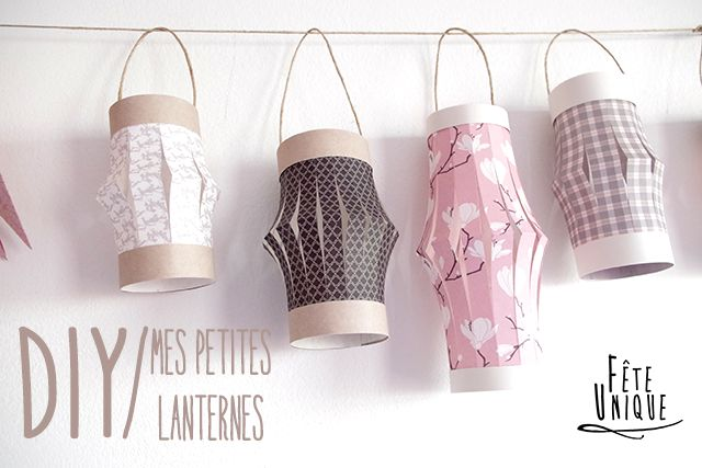 pour décorer vos fenêtres {DIY} Mes petites Lanternes - Faites votre #fêtesdesLumières #maison #DIY