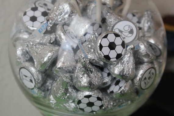 soccer kiss stickers