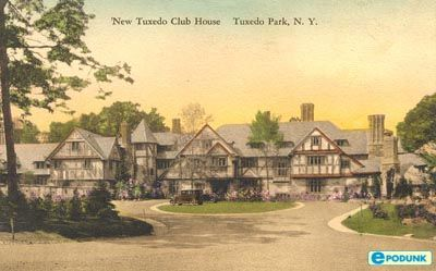 Postcard from tuxedo park new york ny featuring the for The tuxedo house