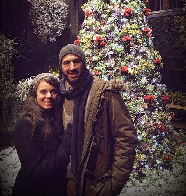 Jeremy and Jinger visiting he Longwood Garden Conservatory! They look perfect together! #jeremyvuolo #jingervuolo #vuolofamily