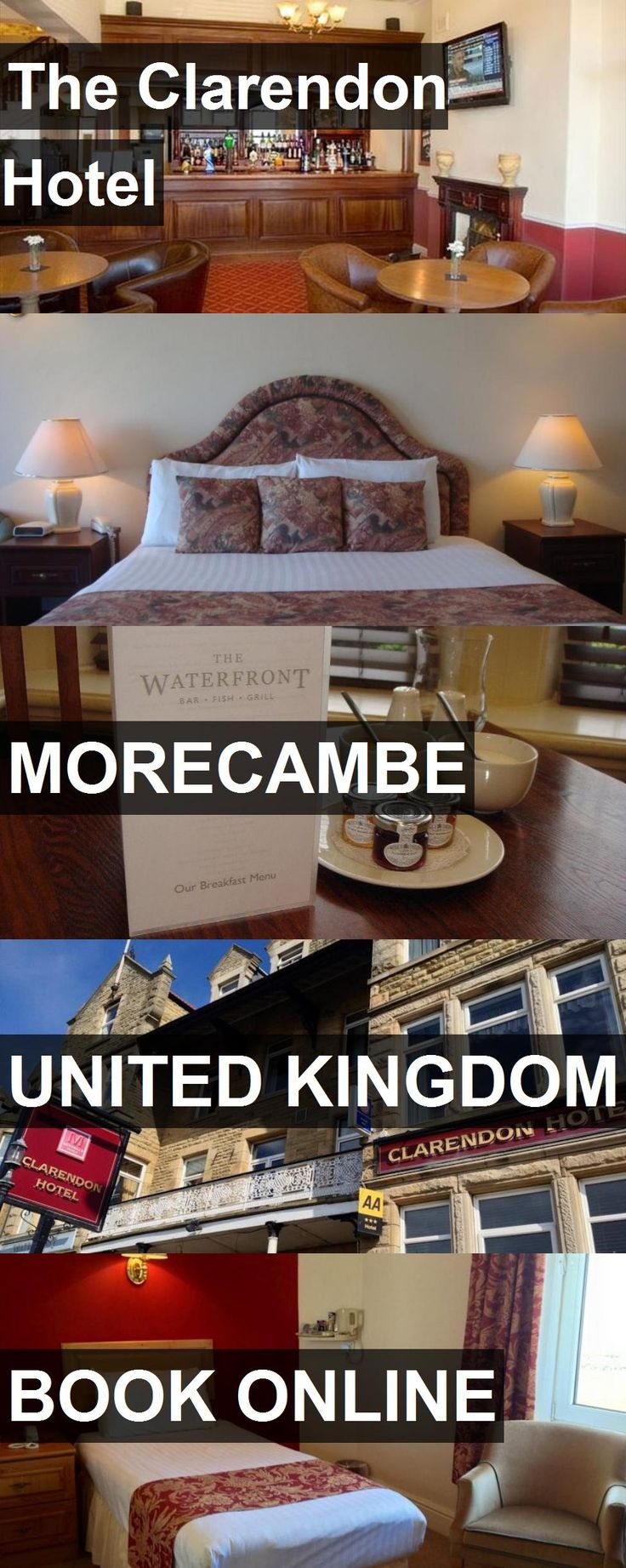 The Clarendon Hotel in Morecambe, United Kingdom. For more information, photos, reviews and best prices please follow the link. #UnitedKingdom #Morecambe #travel #vacation #hotel