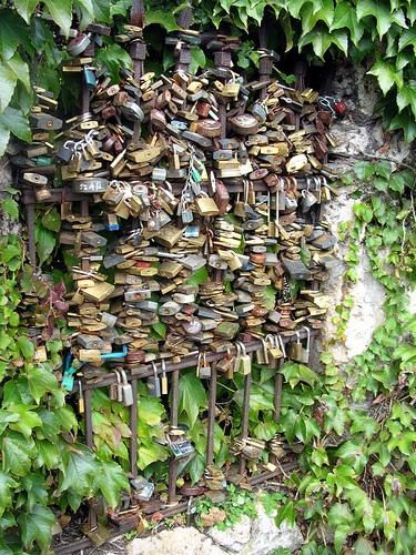 Locks of Love from Tata, Hungary.
