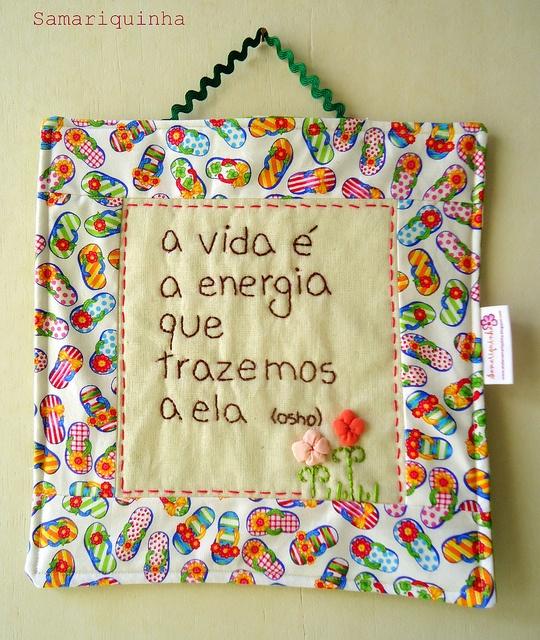Charminho para casa. by Fotos de Samariquinha- Micheline Matos, via Flickr