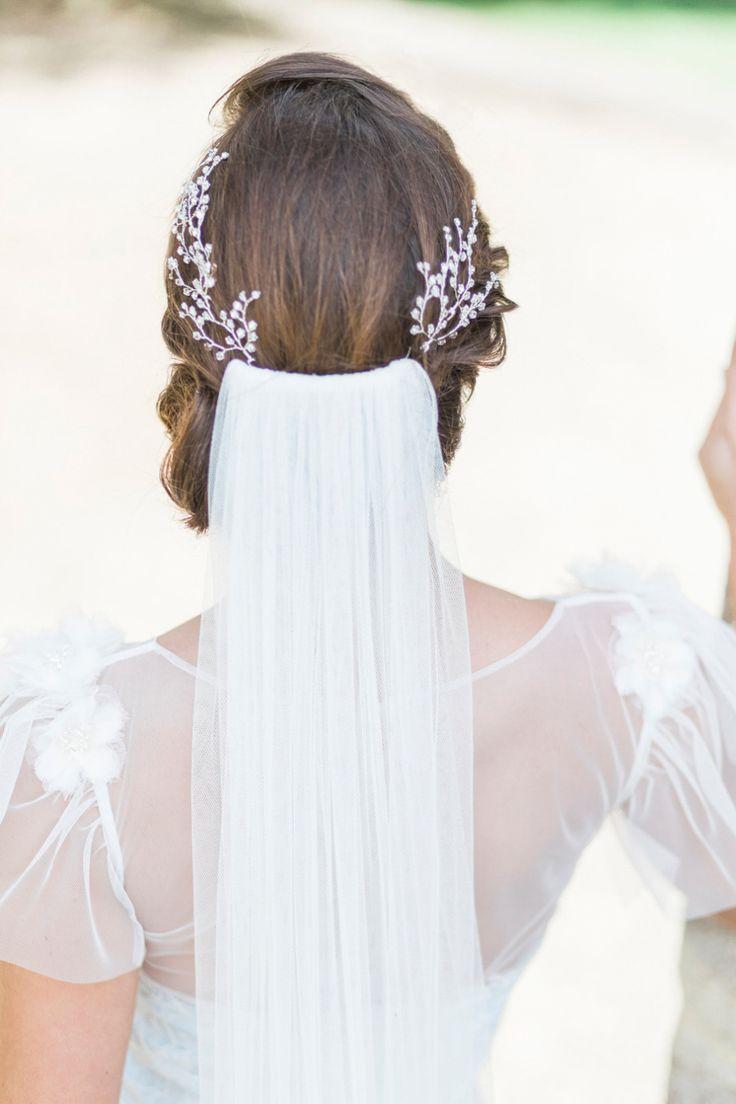 619 best tocados para novias images on Pinterest | Bridal hair ...