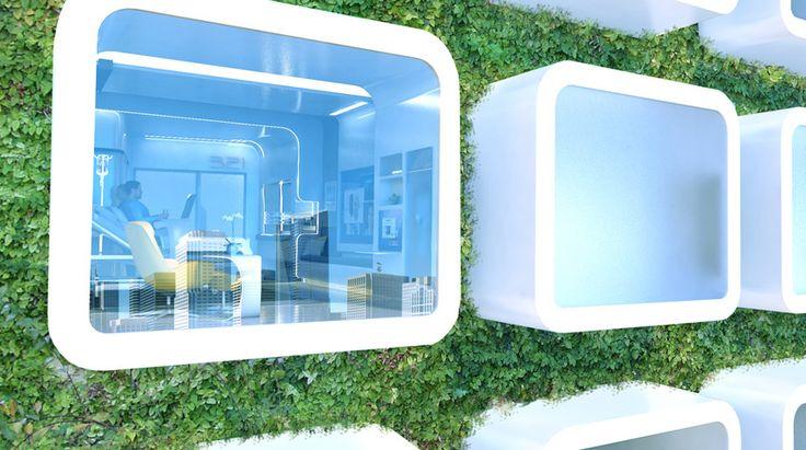 The Hospital Room Of The Future: Flexible, Media Rich, Very Shiny ...