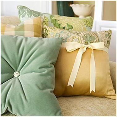 Идеи декора диванных подушек » Швейка