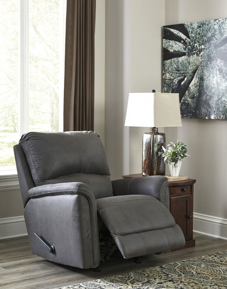 Get your Ranika   Gray   Rocker Recliner at Home Furniture  Wisconsin Rapids  WI furniture store. 10 best rocker recliners images on Pinterest   Home furnishings