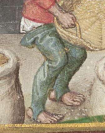 Stundenbuch (Livre d'heures) flämisch, Ende 15. Jh. Clm 28345 Folio 17