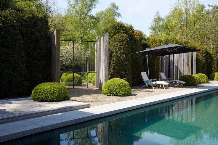 jan joris tuinarchitectuur / villatuin schilde