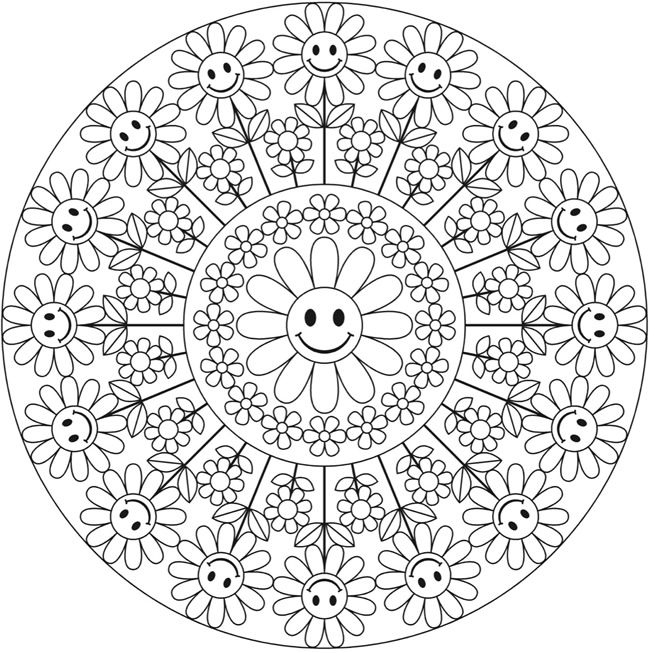 Welcome to Dover Publications  Creative Haven Groovy Mandalas Coloring Book So cute!!!
