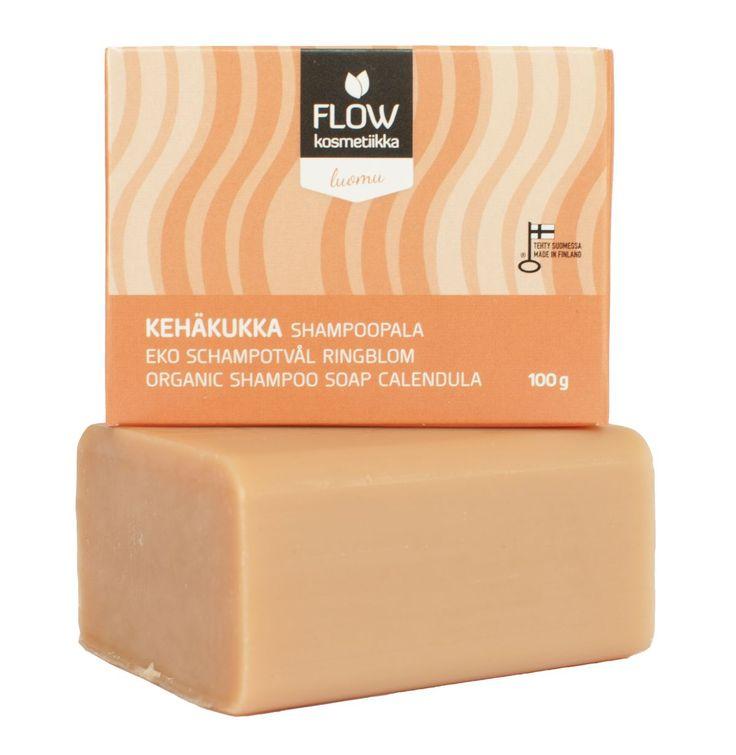 Flow calendula shampoo soap