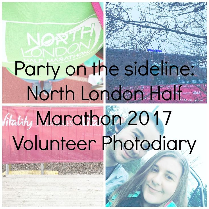 A Party At The Sideline: North London Half Marathon 2017 Volunteer Marshal Photodiary