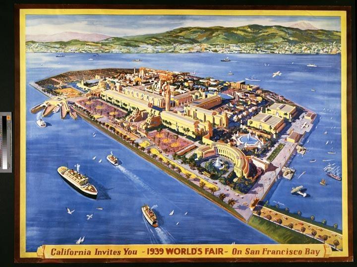 Treasure Island World39s Fair San Francisco