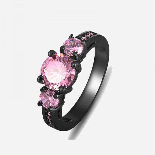 63 best images about Pink Sapphire Engagement Rings on Pinterest