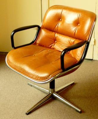 fauteuil cuir vintage design pollock pas cher meubles paris fauteuil pinterest fauteuil. Black Bedroom Furniture Sets. Home Design Ideas