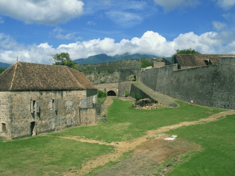 Fort St. Charles, Basse-Terre, Guadeloupe, Lesser Antilles, West Indies