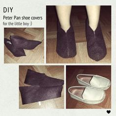 how to make peter pan shoes - Google Search