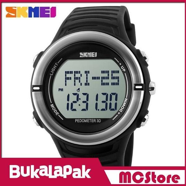Beli MCStore Jam Tangan SKMEI Heartrate & Pedometer Sport Water Resistant 50m - DG1111HR1 - Black dari MCStore habibwaldani - Jakarta Barat hanya di Bukalapak