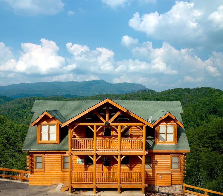 Big Timber Lodge   This Lovely 8 Bedroom Cabin Features 8 King Bedrooms, 4  Of