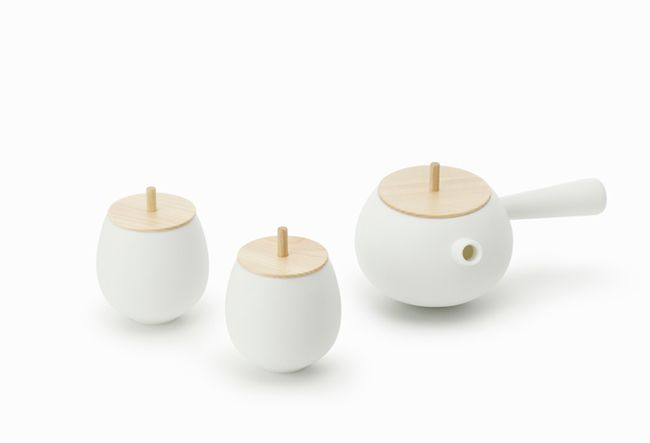Milan Design Week 2012 – Top Tea Set by Nendo