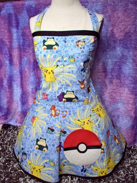Pokemon Dress Corset back  £50.53