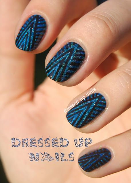 best 20 art deco nails ideas on pinterest triangle nail art geometric nail art and manicures. Black Bedroom Furniture Sets. Home Design Ideas