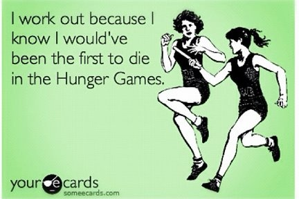 baha oh hunger games...but for real.: Hunger Games But, Hunger Games Jokes, Shape I M, No Matter What, Couch Funny, Funny And, So True