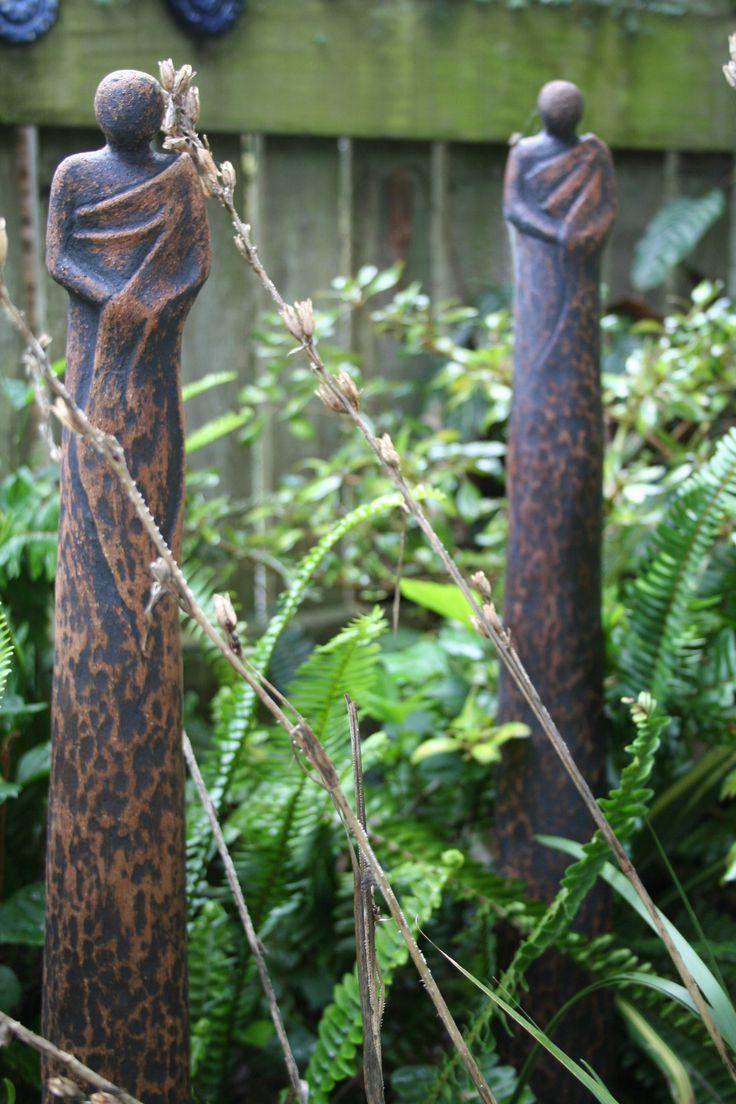 Ceramic Garden Monks, Te Aria Nui