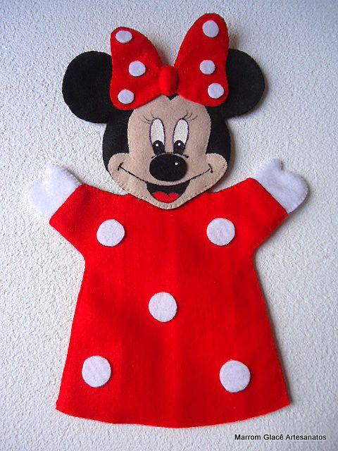 Minnie fantoche...