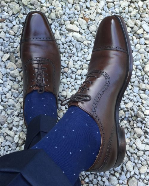 "cleav31: "" Today. Crockett and Jones, Hackett and Canali """