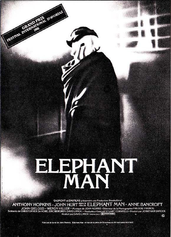 Redécouvrez la bande-annonce du film Elephant Man ponctuée des secrets de tournage et d'anecdotes sur celui-ci. ☞ Elephant Man (The Elephant Man) est un fi