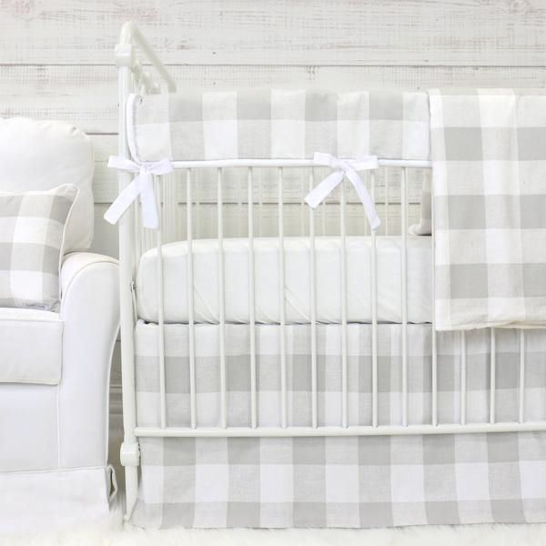Fletcher's Farmhouse Bumperless Crib Bedding