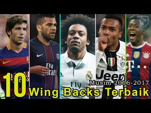 10 Wing Backs Terbaik Musim 2017