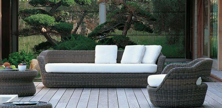 Eden sofa by #Unopiù #Outdoor