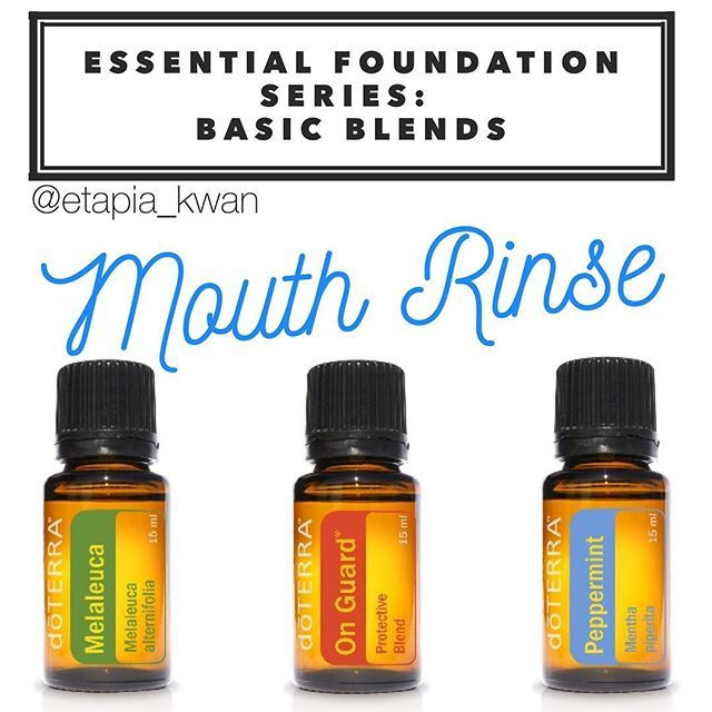 My essential foundation series is a great way to learn how to use DoTERRA's top 10 oils as part of your daily routine. This next blend is an excellent way to swap out your mouthwash for a cost efficient natural mouth rinse to help support oral health. Ingredients: 2 cups warm filtered water 2 teaspoons salt 4 drops On Guard 3 drops Melaleuca 4 drops Peppermint Mix the salt and warm water in a glass container. Add your essential oils, and shake to combine. You can use this at home, or take…