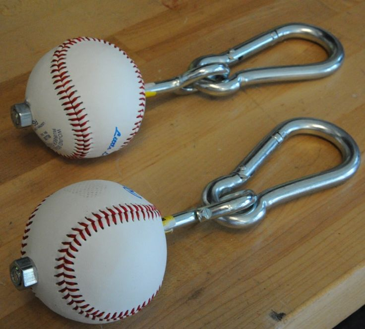 This post on reddit reminded me how awesome homemadegripstrength tools likebaseballs, tennis balls and softballs are. If you have ever been to a climbing gym you probablyhaveseen these things before. They are a cheap, but valuable addition to your home gym. Click here for a tutorial by Ross Enamait on how to build your own. …