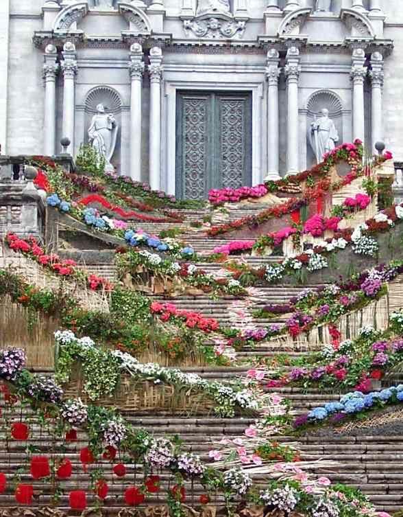 Girona Temps de Flors.....Flower time - Catalonia