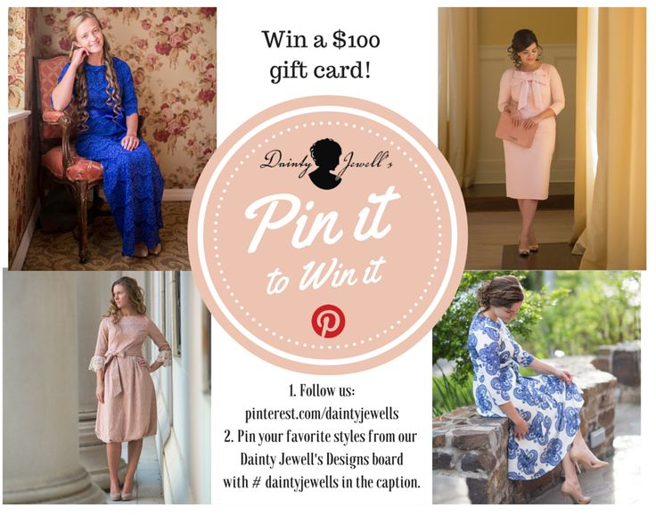 We've passed 20,000 followers on Pinterest! To celebrate, we're giving away a $100 GIFT CARD! Here's how to enter the giveaway: 1. Follow us: pinterest.com/daintyjewells 2. Pin any of our designs; be sure to include the hashtag #daintyjewells.  Official Rules: You may pin as many pins as you like. In order to qualify, each pin MUST be connected with our website and MUST have #daintyjewells in the caption. Contest ends August 21st. Repin this for DOUBLE chances to win. Good luck!
