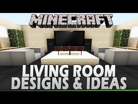Minecraft nice lounge living room designs ideas for Minecraft lounge ideas