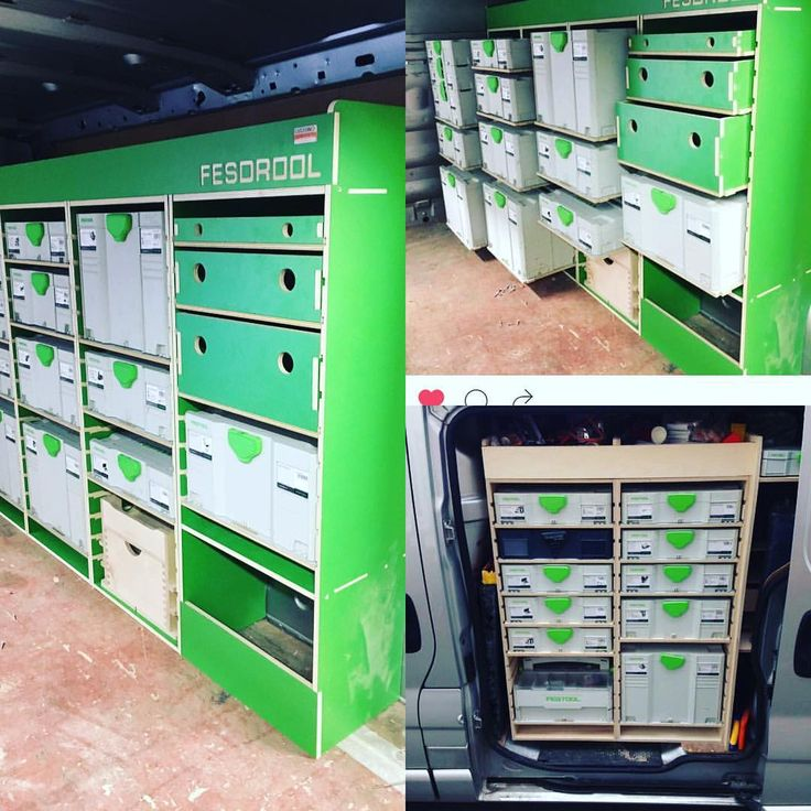 "20 Likes, 6 Comments - Custom Solutions UK (@jamescustomuk) on Instagram: ""When it comes to systainer storage and modular van racking this has to be the answer. #festoolme…"""