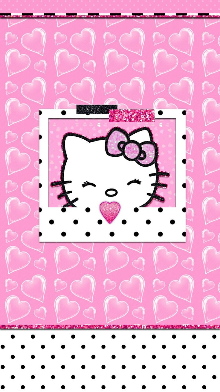 1000 ideas about hello kitty wallpaper on pinterest sanrio hello kitty and kitty wallpaper - Hello kitty image ...