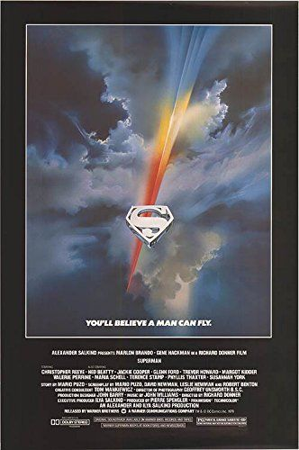 Superman - Authentic Original 27 x 40.5 Movie Poster @ niftywarehouse.com #NiftyWarehouse #Superman #DC #Comics #ComicBooks