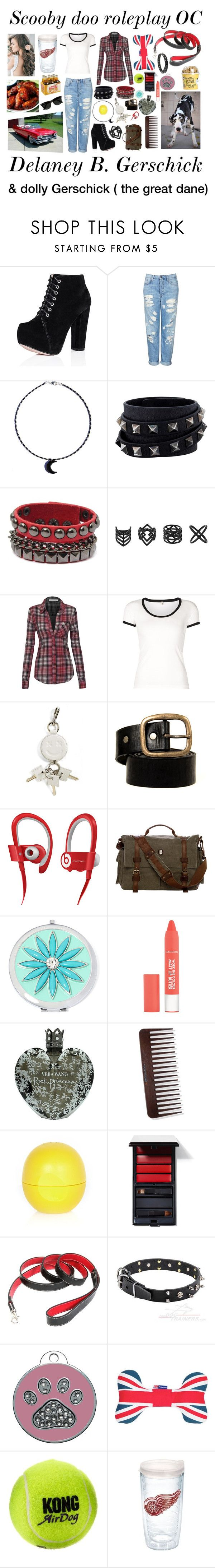 """""""Scooby doo rp OC!"""" by evil-fangirl-overlord ❤ liked on Polyvore featuring Topshop, Valentino, R13, Alexander Wang, Beats by Dr. Dre, Liz Claiborne, Vera Wang, River Island, Serge Lutens and Royce Leather"""
